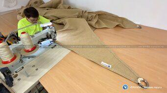 Производство текстильных навесов теневых парусов для детской спортивной площадки