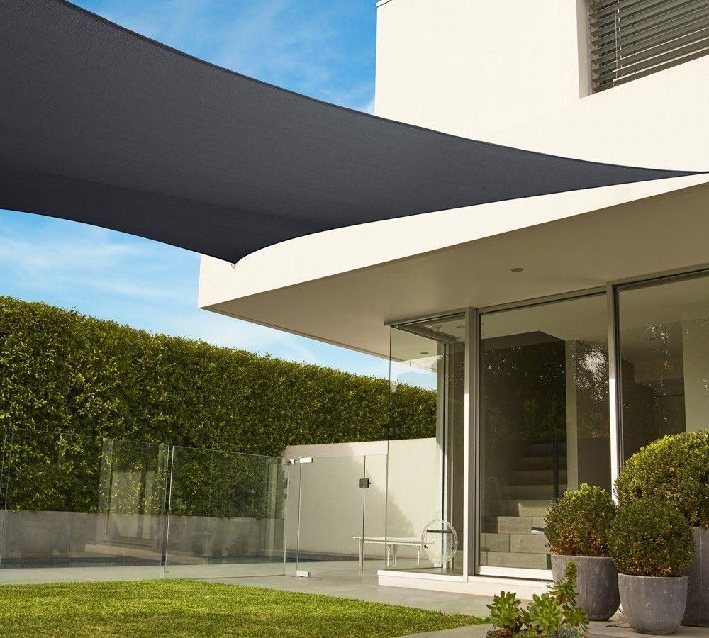 04 Дизайн крыльца частного дома с навесом Фото Теневой парус